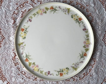 Absolutely Gorgeous Wedgewood Mirabelle Pattern Cake Plate