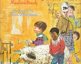 Corky's Hiccups Vintage Whitman Big Tell a Tale Book by Nicolete Stack Illustrated by Tom O'Sullivan