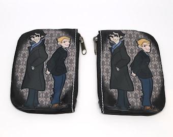 BBC Sherlock and Watson coin purse