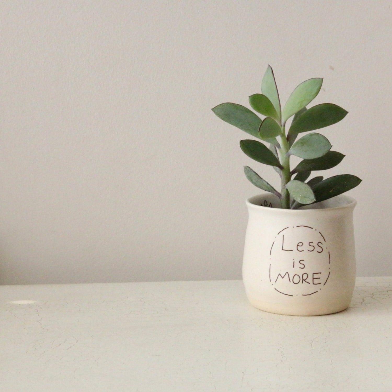 White Ceramic Planter Succulent Planter Ceramic Plant Pot