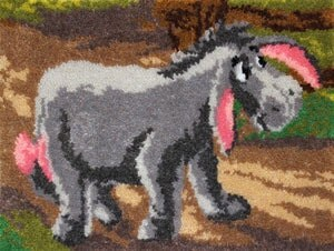 Eeyore Latch Hook Rug By Thestitchinggirl On Etsy