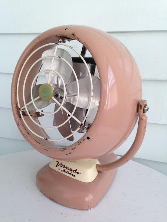 Pink Electric Fan : Vintage vornado fan pink metal display only not working
