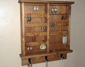 Dorm Room Jewelry Organizer - Jewelry Storage - Jewelry Display- Jewelry Holder-