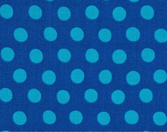 Kaffe Fassett - Spots GP70 - Sapphire - Quilt Fabric - Fat Quarter Cotton Quilt Fabric 516