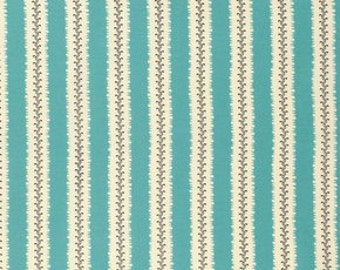 New Bedford by Denyse Schmidt for Free Spirit - Stripish - PWDS095-SEAXX - Fat Quarter - FQ - Cotton Quilt Fabric 516