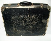 Vintage Traveling Salesman Sample Case Advertising Collectible Photographers Prop Zanol Products 1930's