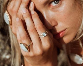 Inner Vision Eye Ring || silver