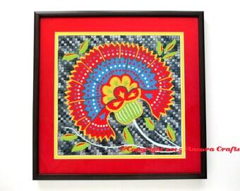 Persian Flower Cross Stitch and Needlepoint Pattern PDF