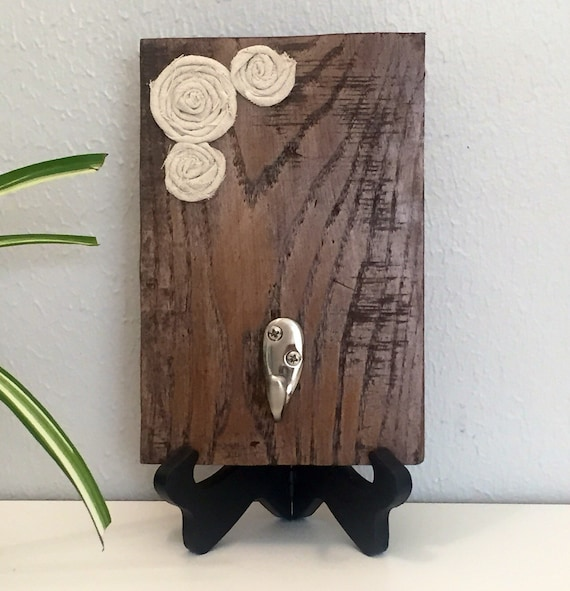 Hand Towel Holder Rustic Towel Hook By Amberswoodenboutique