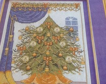 C - VICTORIAN CHRISTMAS TREE - cross stitch pattern only