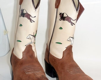 childrens old west cowboy boots