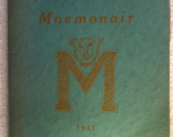 1941 Mountair Yearbook