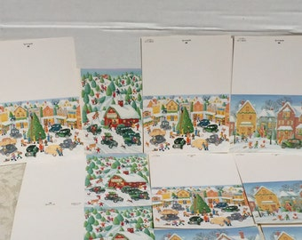 Vintage Christmas Cards By Hallmark