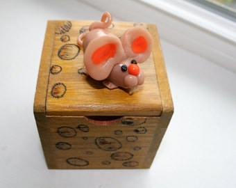 Swiss Cheese Mouse Box