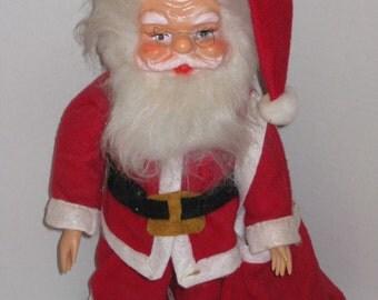 Vintage Santa Claus, IVORY, 1940's, Christmas Decoration