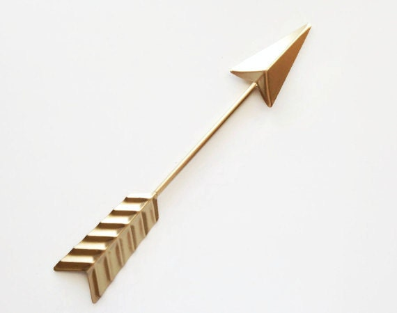 Gold Arrow Wall Decor : Gold arrow wall decor nursery tribal kids metal