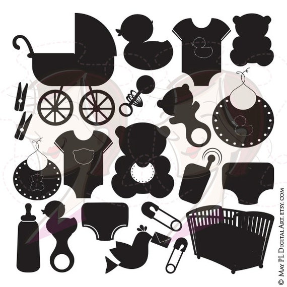 baby boy clip art baby shower black and white www Minnie Mouse Clip Art Black and White Baby Minnie Mouse Border