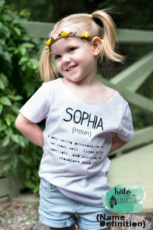 Personalised Definition Of Mum Print: Custom Cut Collar Name Definition™ Tees Custom Shirt Name