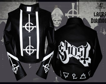 LAURA DIAMOND GHOST b.c. papa emeritus  and the nameless ghouls jacket