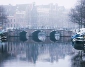 Amsterdam Reflected - Fog - Photography