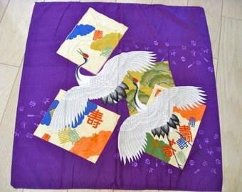 Vintage Furoshiki, Japanese Wrapping Cloth