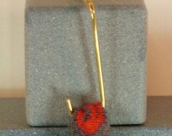 Christmas Stocking Hooks Hangers Holders Bronze New Design