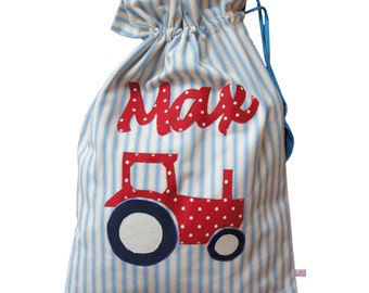 Children's Gym Bag - Sports Drawstring Bag for Children- School Sports Kit Bag