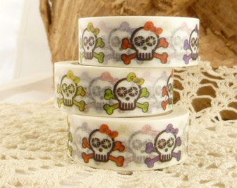Sugar Skull Washi Tape - LL1464