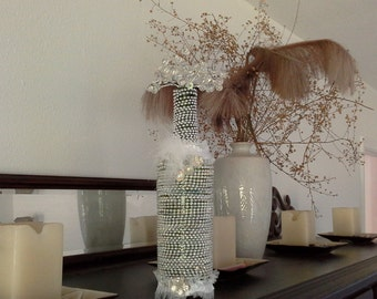 Decorative Bottle one of a kind by signart04andmore on Etsy