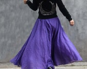 chiffon maxi skirt---golden brown skirt long skirt pleated skirt autumn skirt