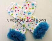 Toddler Leg Warmers, Polka Dot Baby Leg Warmers