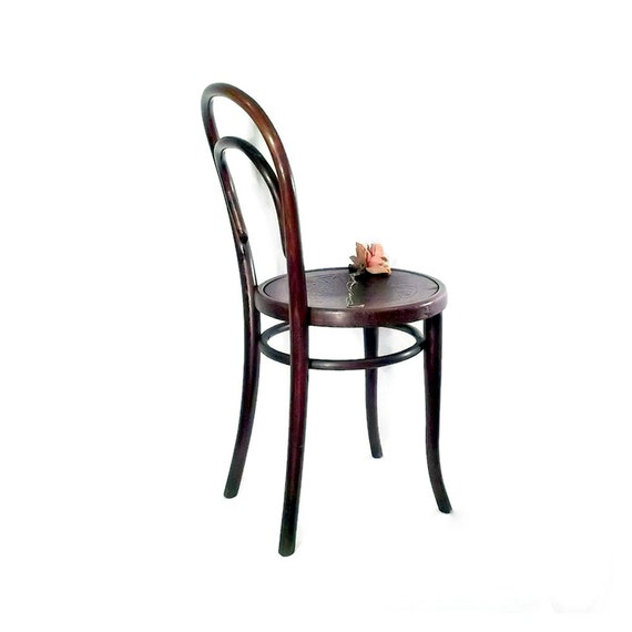Vintage Thonet Bentwood Cafe Chair Austria Dining Chair
