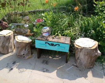 Recycled Stump Stools Are Totally Fab
