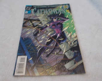 Vintage Comic Book- Catwoman No 0- Oct 1994