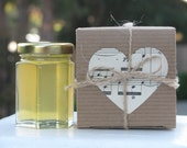 Honey Favors, Wedding Favors, Bridal Shower Favors, Personalized Favors, Kraft Gift Boxes, Honey