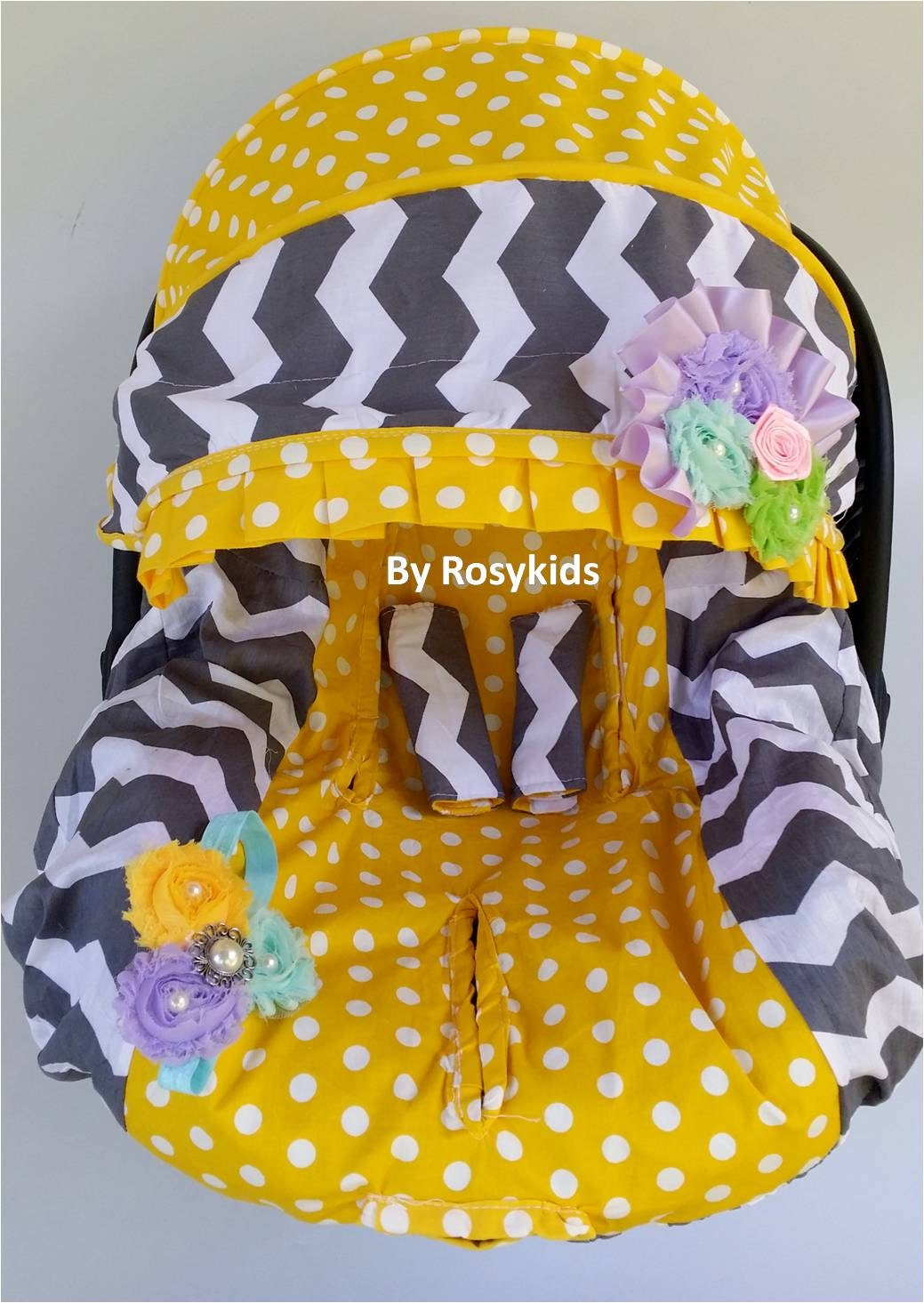 New Baby Car Seat Cover Canopy Infant Car Seat Cover