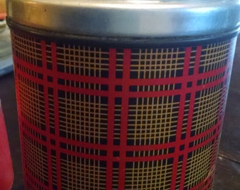 Aladdin Pint Wide MouthThermos in Plaid