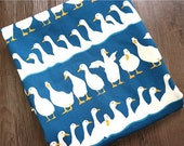 Goose Family Oxford Cotton Fabric - By the Yard 81514