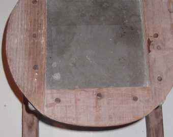 Primitive wood strainer, outstanding condition, beautiful piece, many purposes