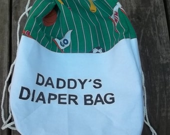 Sports Backpack Duck Dynasty Cinchsack Diaper Bag FOr DAd