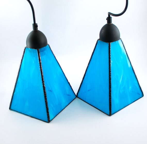 aqua blue glass pendant lighting unique hanging by 87867