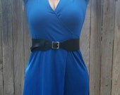 Wide Wrap Black Leather Belt - Women Tie Belts - Fashion Urban Original Belts - Gifts for Her - Summer