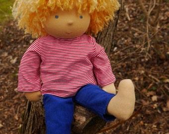 """Waldorf doll, 16"""" Boy, Paddy"""