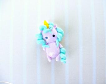 kawaii little unicorn charm chibi