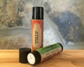 Juicy Mango All-Natural Beeswax Lip Balm. Local Beeswax from the Beekeeper. Organic Shea & Cocoa Butters.