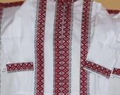 Vyshyvanka, Children embroidery. Ukrainian shirt for babies. Folk shirt for little boys. Ethnic shirt for boys Ukrainian Children's clothing