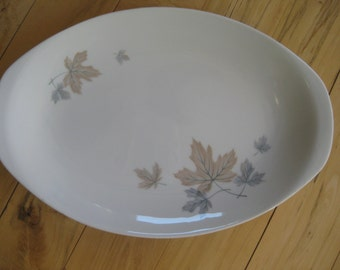 Noritake Maplewood Platter Retro, Maplewood, Cookin Serve discontinued, Very good 14 inch platter TWO available