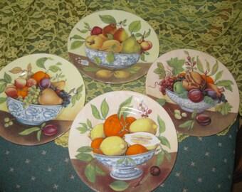 Limoges I Godinger Salad Plates  Set of four, Very good I Godinger made in France