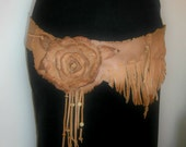 Flower and Fringe Belt