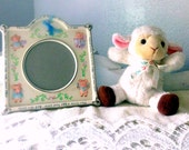 "Baby Frame Ceramic ""This Little Piggy"" Poem"